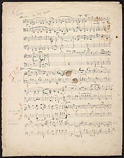 Schumann, Robert | Carnaval (Sketches) | Music Manuscripts Online