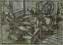 Image of Tintoretto drawings