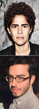 images of Jonathan Safran Foer and Julie Mehretu