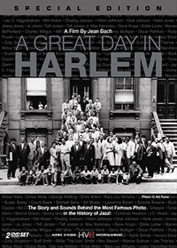 Movie poster for A Great Day in Harlem