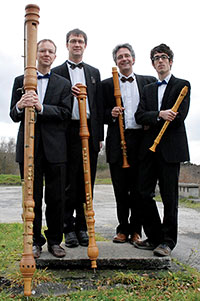 Flanders Recorder Quartet. Photography by Koen Beets.