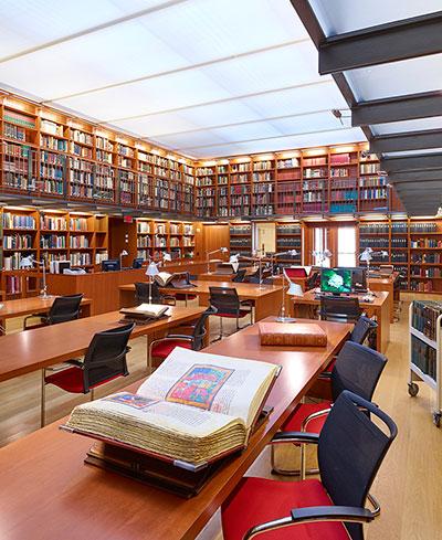 sherman fairchild reading room the morgan library museum
