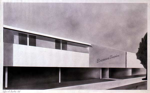 Image of Edward Ruscha drawing