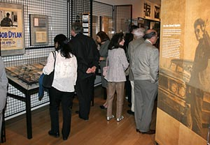 Photo of visitors in gallery