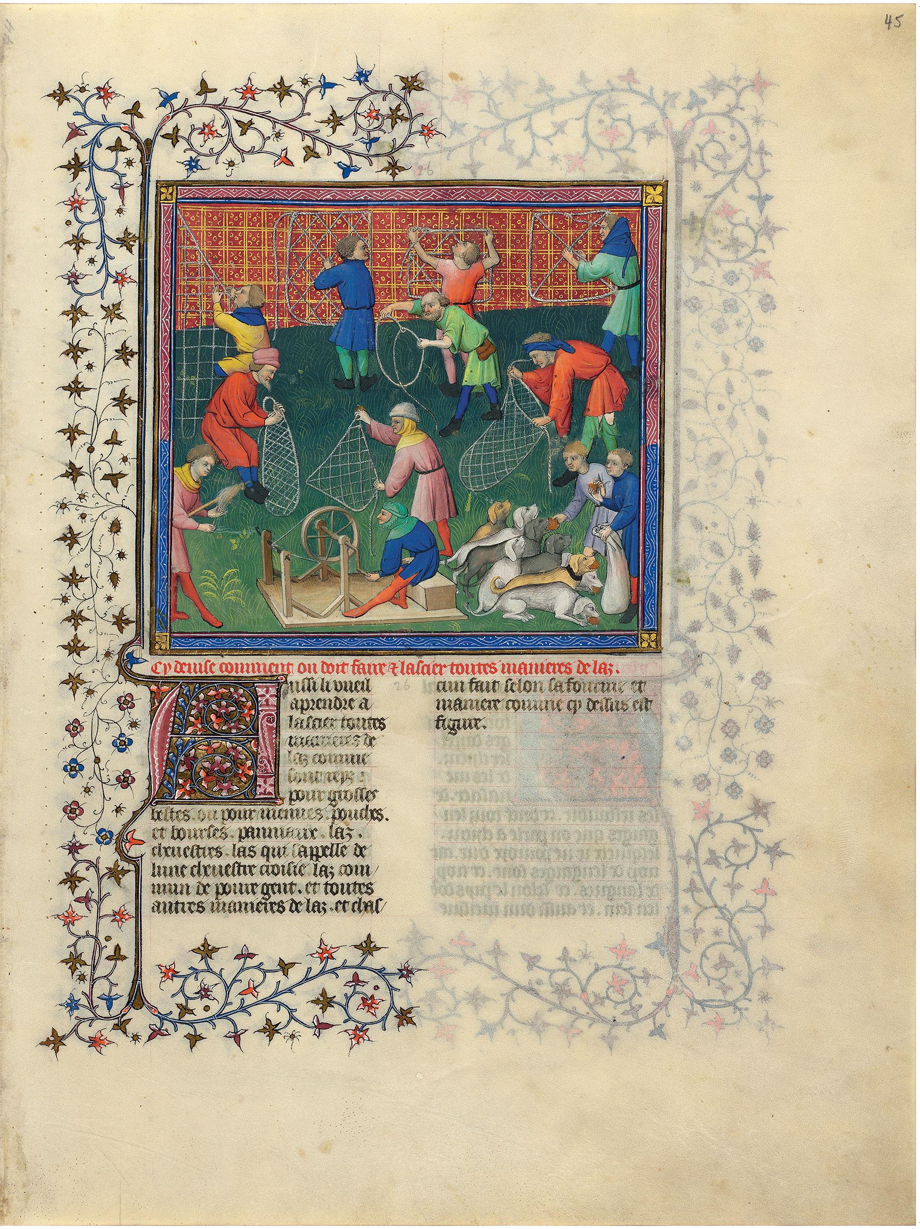 Livre De La Chasse Ms M 1044 Medieval And Renaissance