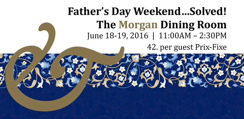 Father's Day at the Morgan