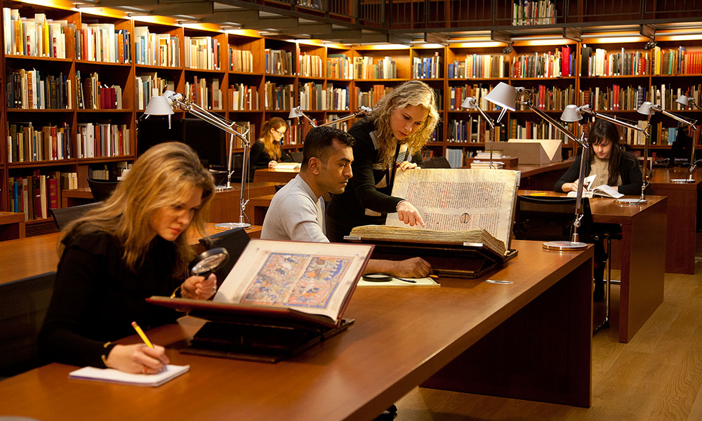 Research paper library services