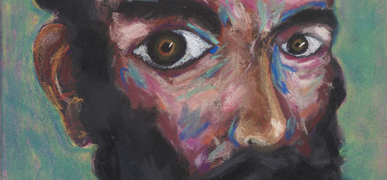 Image of Lucas Samaras, Head #145