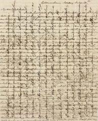 Jane Austen letter