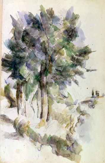 Image of Paul Cexanne drawing
