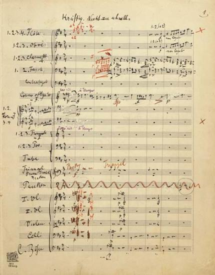 Symphony No 5 Gustav Mahler The Morgan Library Amp Museum