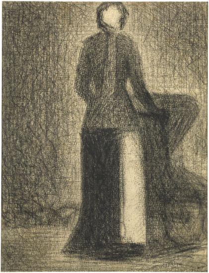 Image of Georges Seurat drawing
