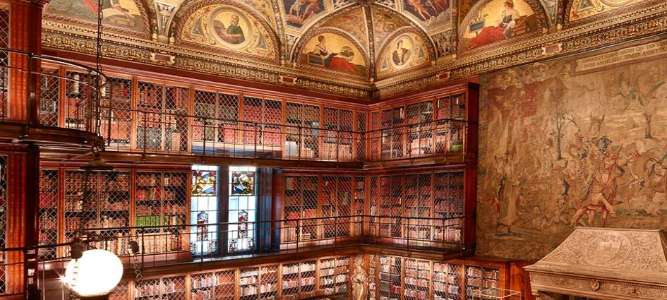 The Morgan Library Amp Museum New York Founded By Pierpont