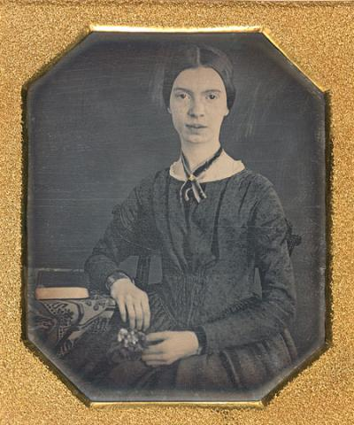 Phootgraph of Emily Dickinson
