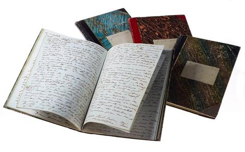 Image of Thoreau journals