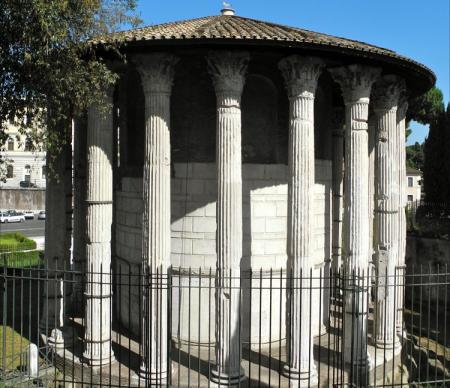 Round Temple By The Tiber City Of The Soul Rome And The