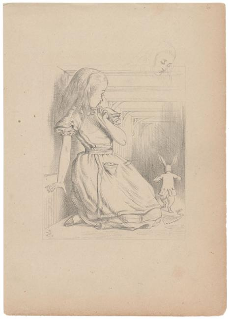 Tenniel\'s later drawing | | The Morgan Library & Museum Online ...