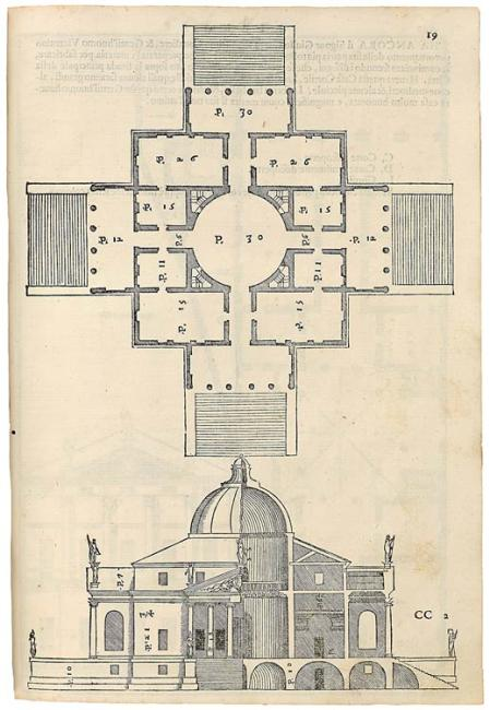 Andrea Palladio Renaissance Venice Drawings From The
