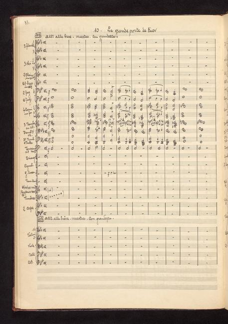 bab425f3d02f Mussorgsky, Modest Petrovich   Kartinki s vystavki  arr.   10. La ...