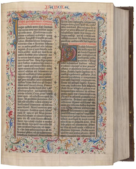 fc59392b4a2ef5  Biblia latina .   Printed Books   The Morgan Library   Museum