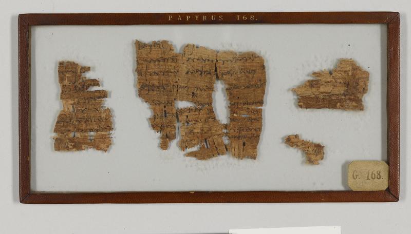 Amherst Greek Papyrus 168 Amh Gr Pap 168 Medieval