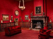 The West Room in J Pierpont Morgan's Library.