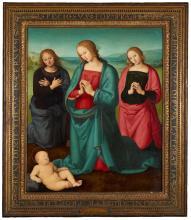 Image of Perugino painting