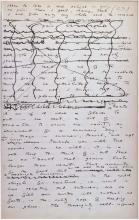 Image of Oscar wilde manuscript page