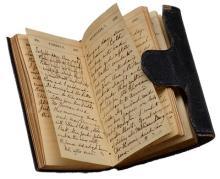 Photograph of Diary of Sophia Peabody Hawthorne