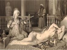 Image of Odalisque and Slave