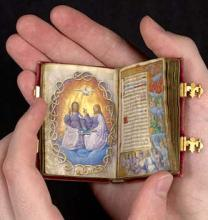Photograph of The Prayer Book of Claude de France