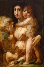 Image of Holy Family with the Young Saint John the Baptist