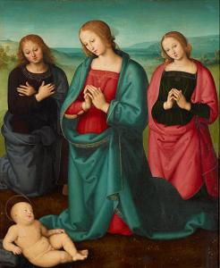 Image of Perugino painting
