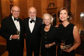 Willis Goldsmith, Larry Ricciardi, Lucy Ricciardi, Marilyn Goldsmith. Photography by John Calabrese.